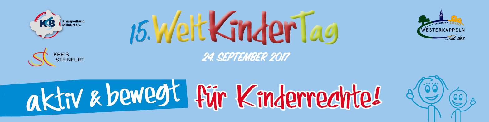 Welt Kindertag