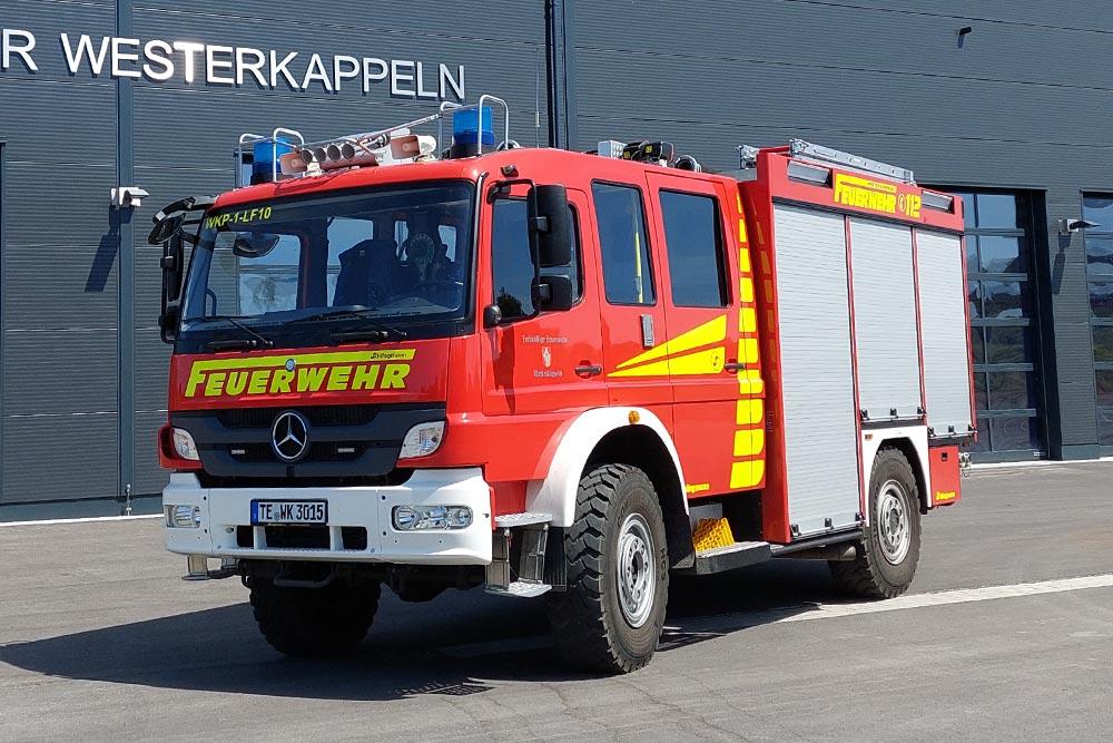 Löschgruppenfahrzeug 10 (LF 10) der Feuerwehr Westerkappeln, LZ Westerkappeln