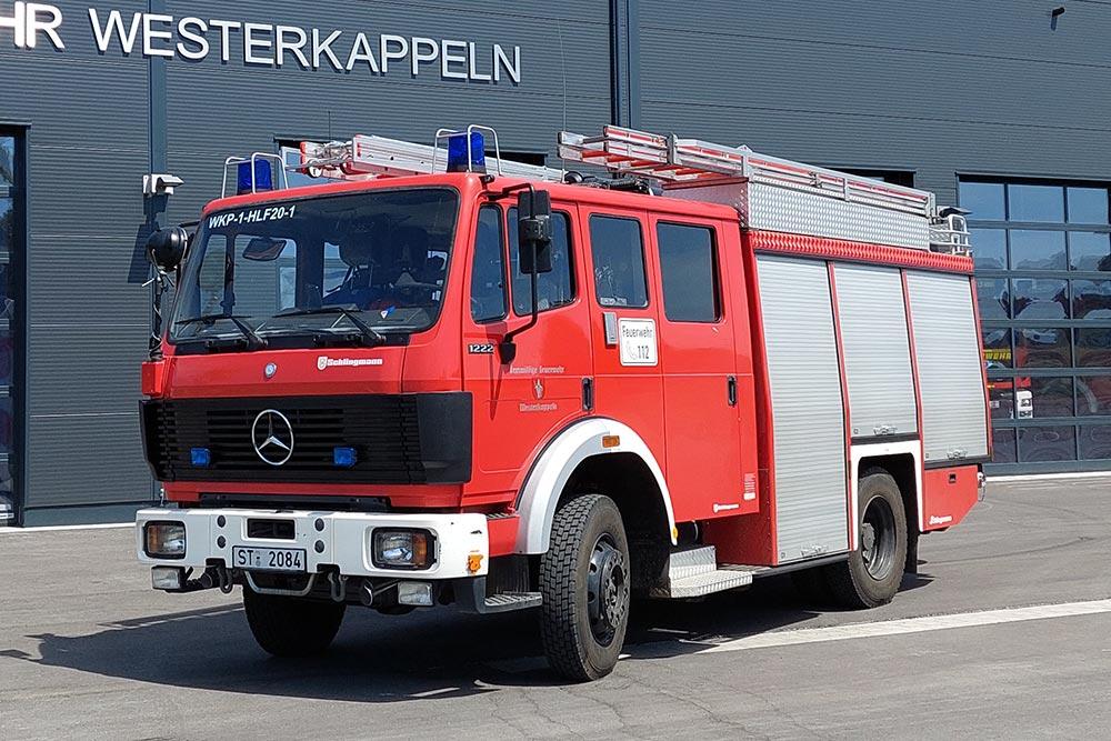 Hilfeleistungslöschfahrzeug 20 (HLF 20) der Feuerwehr Westerkappeln, LZ Westerkappeln, ehem. LF 16/12