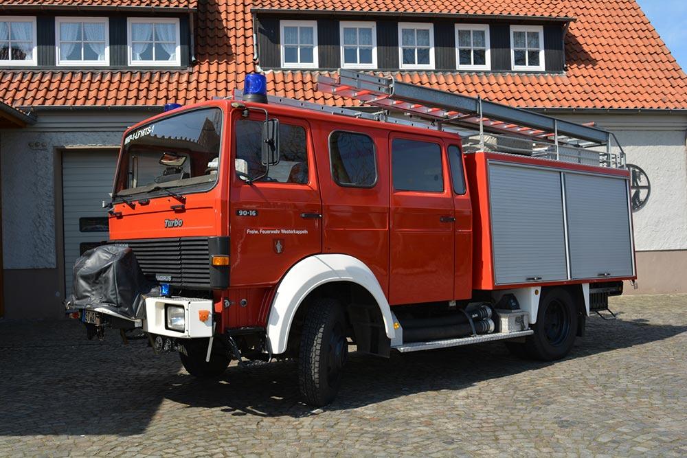 ehem. Löschgruppenfahrzeug 16 mit Tragkraftspritze (LF 16-TS) der Feuerwehr Westerkappeln