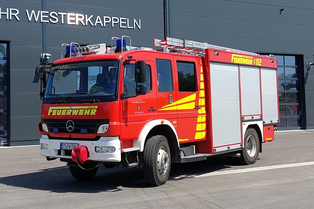 Löschgruppenfahrzeug 20 (LF 20) der Feuerwehr Westerkappeln, LZ Westerkappeln, ehem. LF 20/16