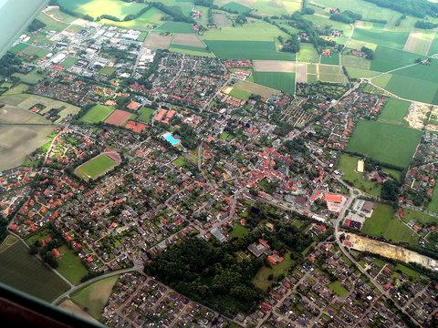 Luftbild von Westerkappeln